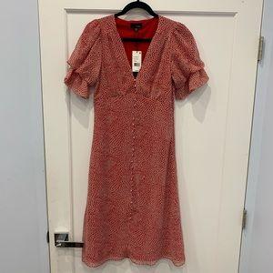 Vintage Retro Style Midi Dress